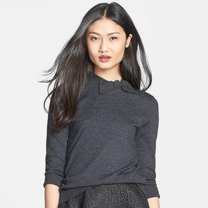 Kate Spade Wool Abree Black Bow Sweater